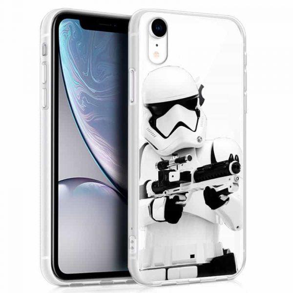 carcasa iphone xr licencia star wars stormtrooper1