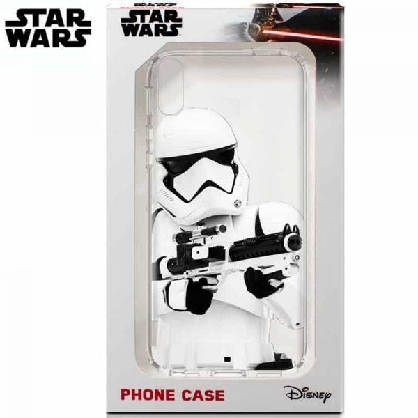 carcasa iphone xr licencia star wars stormtrooper2