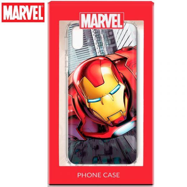 carcasa iphone xs max licencia marvel iron man2