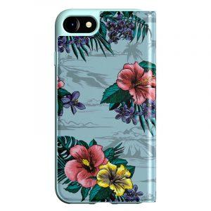 Funda Con Tapa  iPhone 7 / iPhone 8 / SE 2020 Licencia Adidas Flores 7