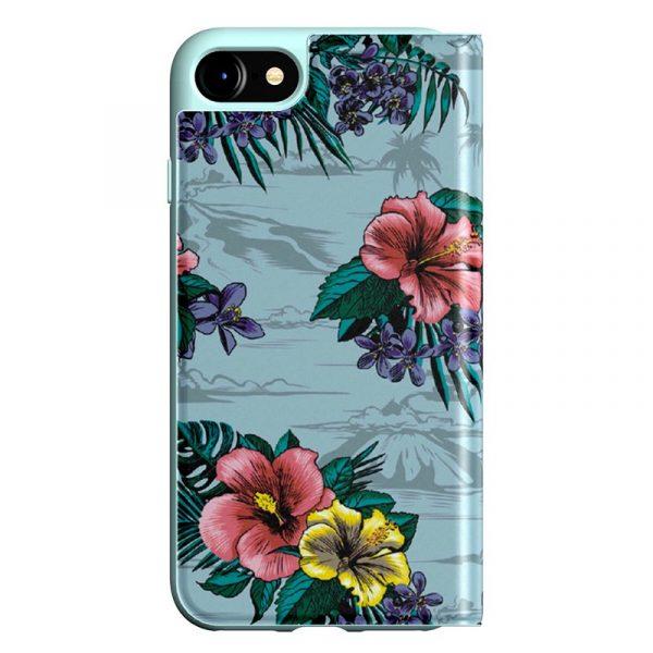 Funda Con Tapa  iPhone 7 / iPhone 8 / SE 2020 Licencia Adidas Flores 4