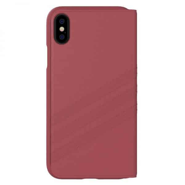 funda flip cover iphone x iphone xs licencia adidas rosa3