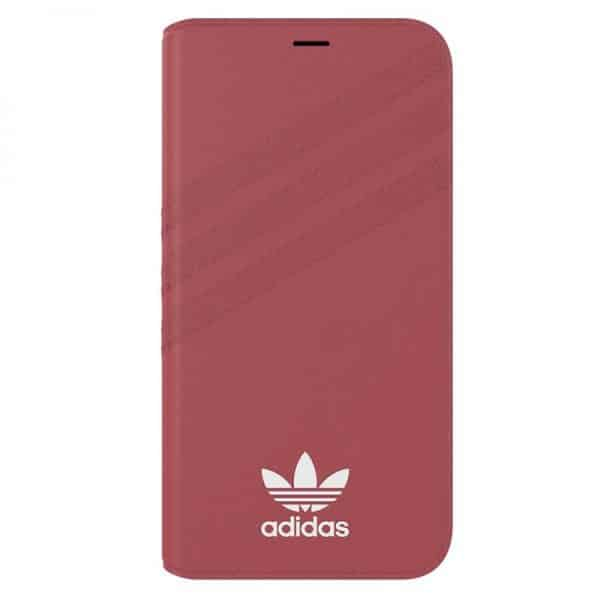 funda flip cover iphone x iphone xs licencia adidas rosa4