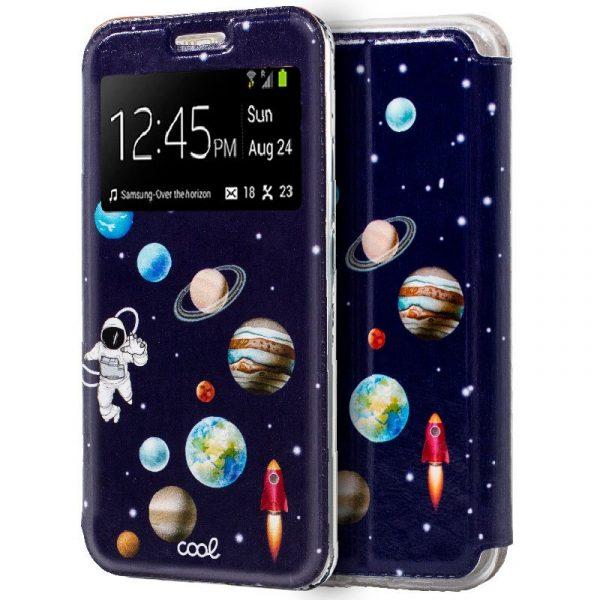 Funda Con Tapa Samsung Galaxy A50 / A30s Dibujos Astronauta 1