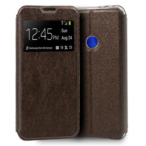 Funda Con Tapa Xiaomi Redmi 7 Liso Bronce 1