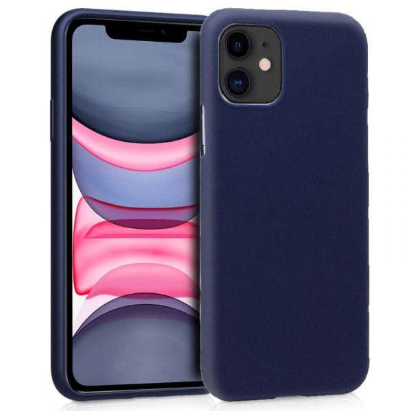 funda silicona iphone 11 azul1