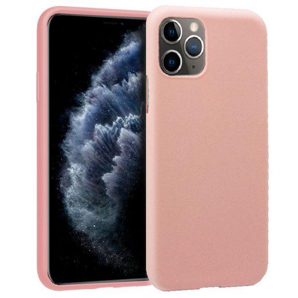 funda silicona iphone 11 pro rosa1