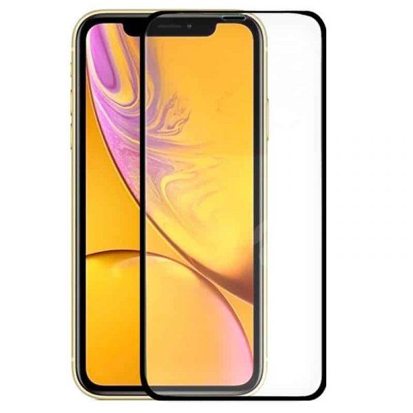 protector pantalla cristal templado iphone xr iphone 11 full 3d negro1