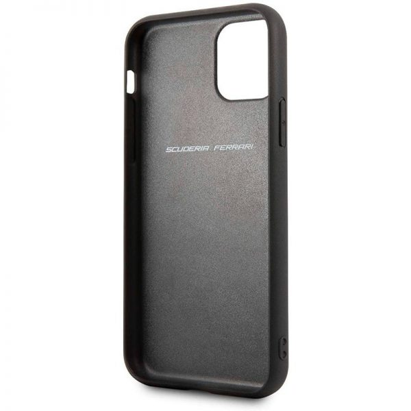 carcasa iphone 11 licencia ferrari negro3