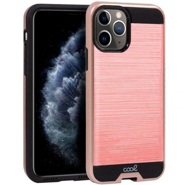 carcasa iphone 11 pro aluminio rosa1