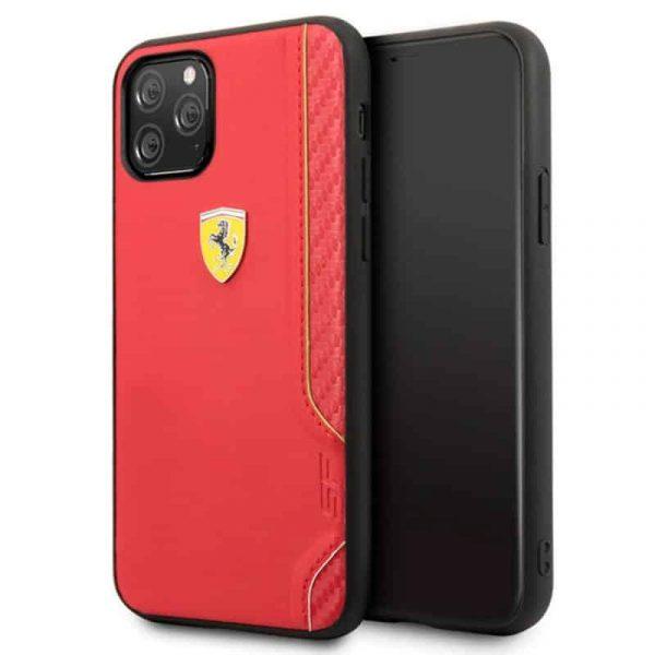 carcasa iphone 11 pro licencia ferrari rojo1