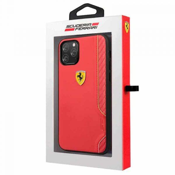 carcasa iphone 11 pro licencia ferrari rojo2