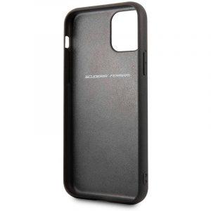 carcasa iphone 11 pro licencia ferrari rojo3