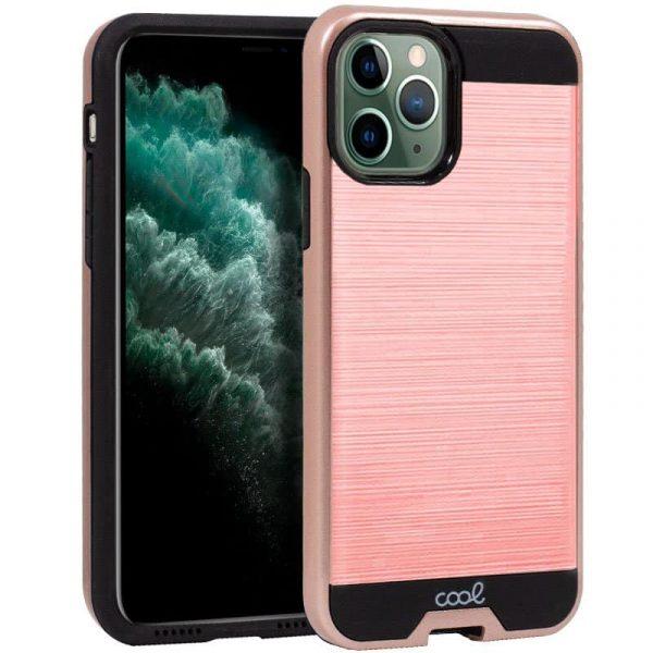 carcasa iphone 11 pro max aluminio rosa1