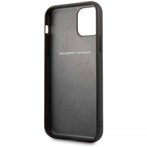 carcasa iphone 11 pro max licencia ferrari negro3