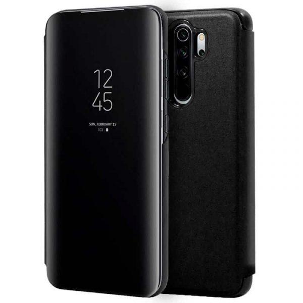 Funda Con Tapa Xiaomi Redmi Note 8 Pro Clear View Negro 1