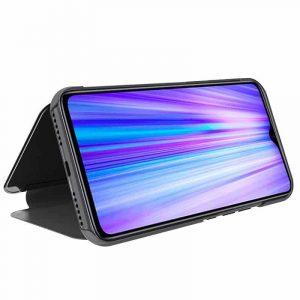 Funda Con Tapa Xiaomi Redmi Note 8 Pro Clear View Negro 4