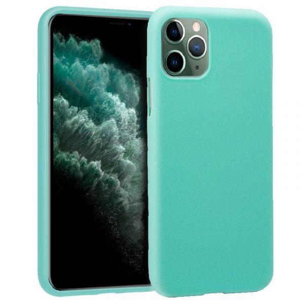 funda silicona iphone 11 pro max mint1