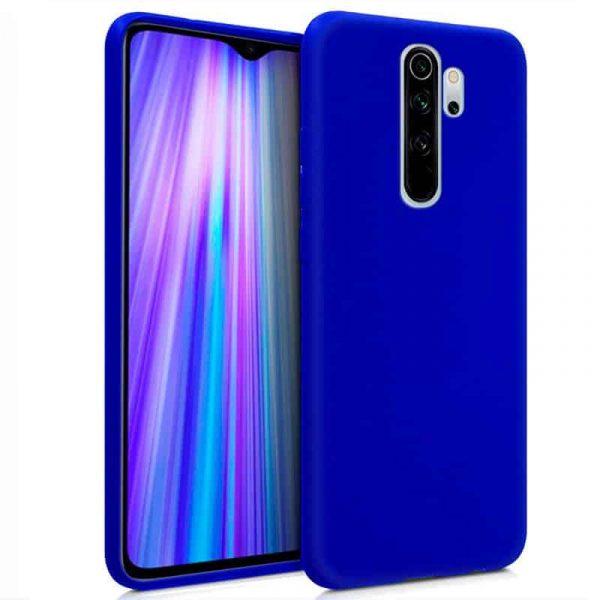 funda silicona xiaomi redmi note 8 pro azul1