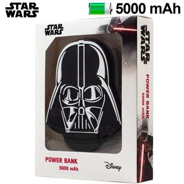 Bateria Externa Micro-usb Power Bank 5000 mAh Licencia Star Wars Darth Vader 1