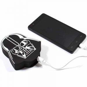 Bateria Externa Micro-usb Power Bank 5000 mAh Licencia Star Wars Darth Vader 5