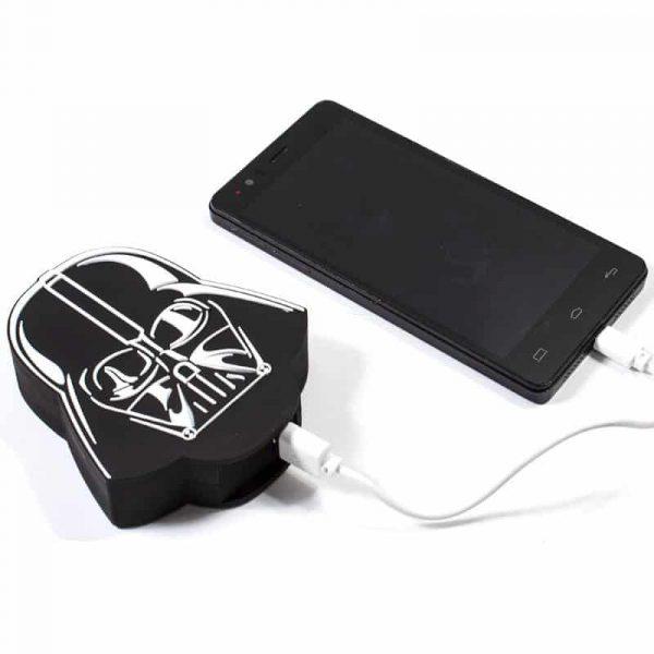 Bateria Externa Micro-usb Power Bank 5000 mAh Licencia Star Wars Darth Vader 3