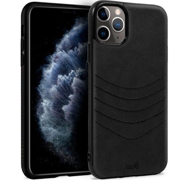 carcasa iphone 11 pro leather bordado negro1