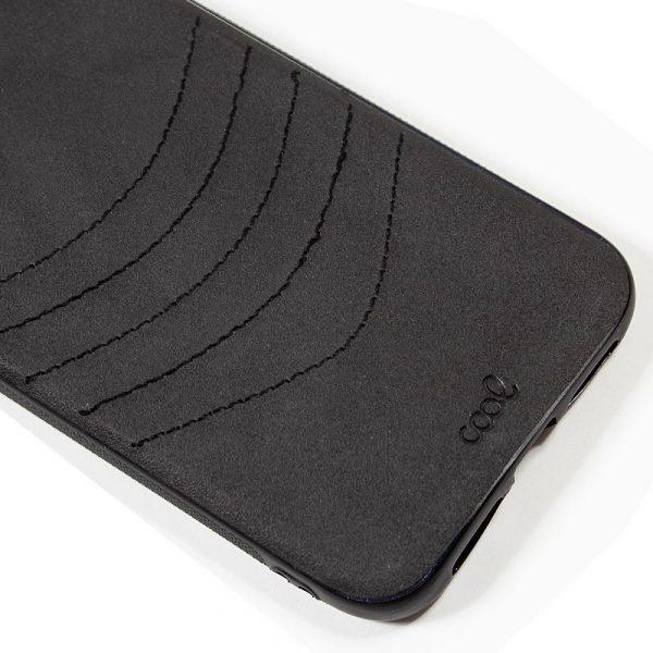 carcasa iphone 11 pro leather bordado negro2