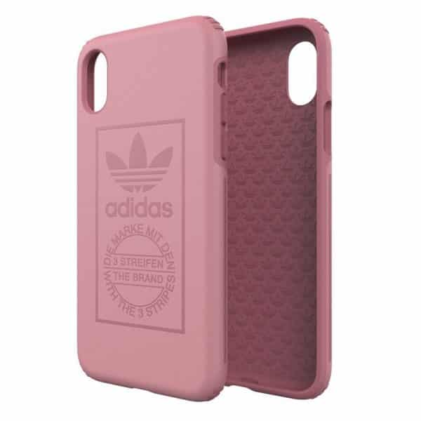 carcasa iphone x iphone xs licencia adidas hard rosa2