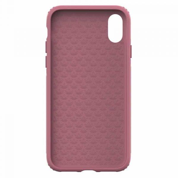 carcasa iphone x iphone xs licencia adidas hard rosa4