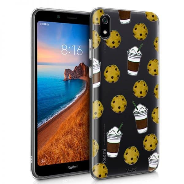 Carcasa Xiaomi Redmi 7A Clear Cookies 1