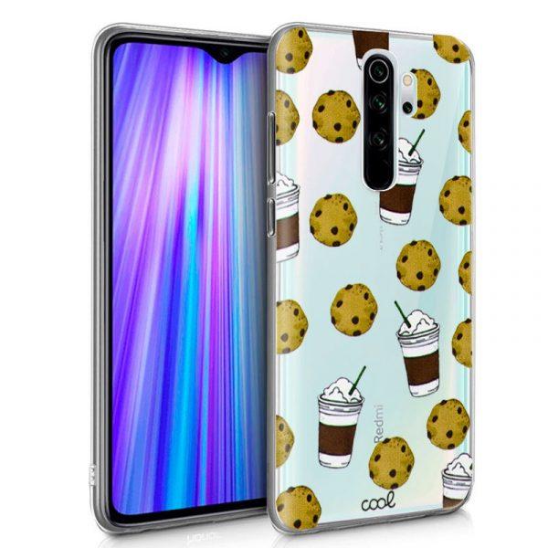 Carcasa Xiaomi Redmi Note 8 Pro Clear Cookies 1