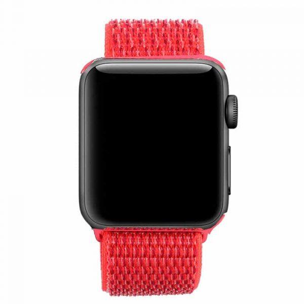 correa apple watch series 1 2 3 4 5 38 40 mm loop nylon rosa3