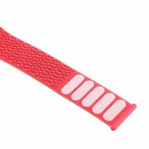 correa apple watch series 1 2 3 4 5 38 40 mm loop nylon rosa4