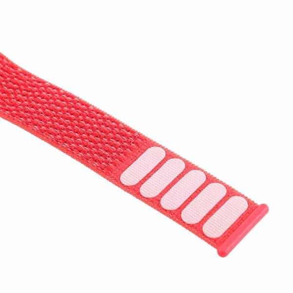 correa apple watch series 1 2 3 4 5 42 44 mm loop nylon rosa4