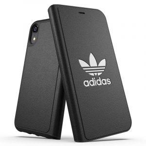 Funda Con Tapa iPhone XR Licencia Adidas Negro 5