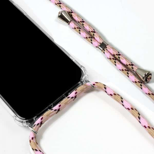 carcasa iphone 11 cordon rosa2