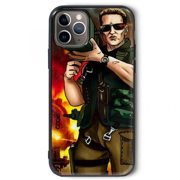 carcasa iphone 11 pro dibujos bazoka1