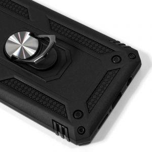 carcasa iphone 11 pro hard anilla negro2