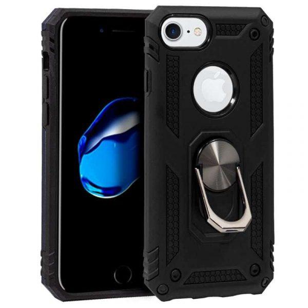 carcasa iphone 6 6s hard anilla negro1