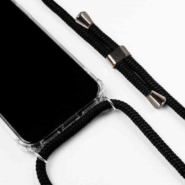 carcasa iphone 7 iphone 8 cordon negro2
