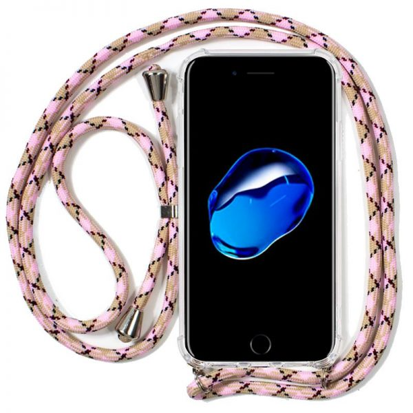 Carcasa iPhone 7 Plus / iPhone 8 Plus Cordón Rosa 1