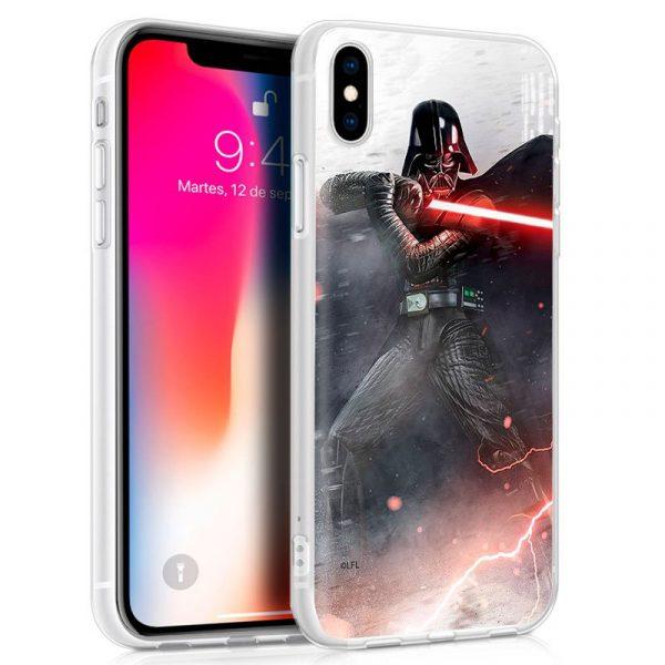 carcasa iphone x iphone xs licencia star wars darth vader1