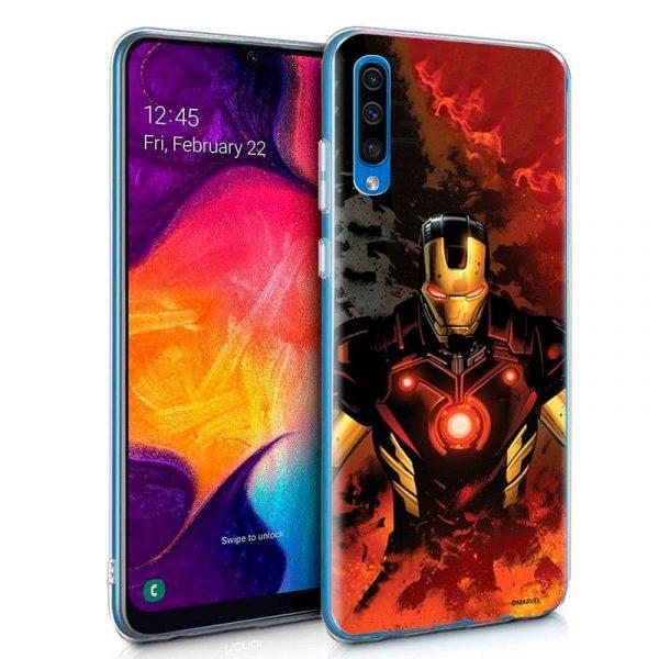 Carcasa Samsung Galaxy A50 / A30s Marvel Iron Man 1