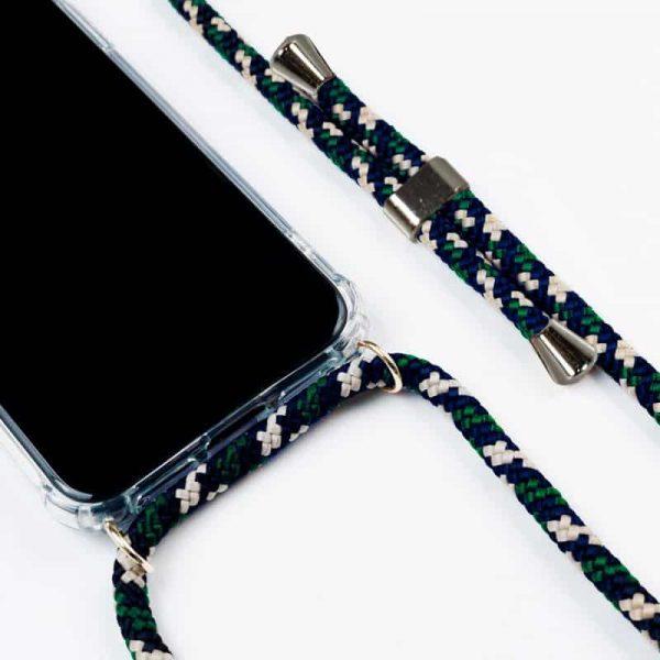 Carcasa Samsung Galaxy A40 Cordón Verde 2