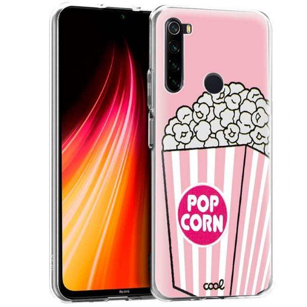 Carcasa Xiaomi Redmi Note 8 Dibujos Pop Corn 1