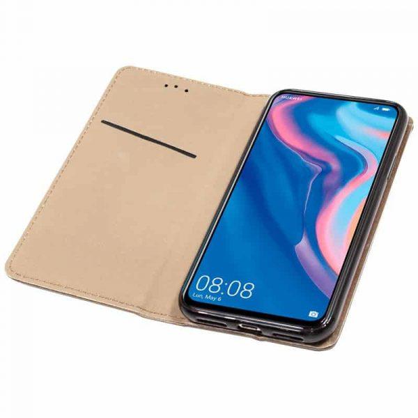 Funda Con Tapa Huawei P Smart Z / Honor 9X Beige 2