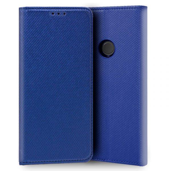 Funda Con Tapa Huawei P20 Lite Liso Azul 1
