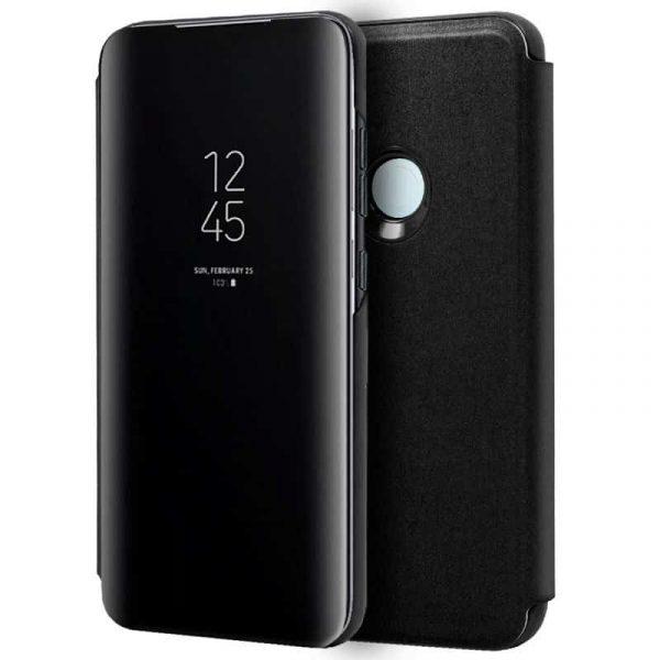 Funda Con Tapa Xiaomi Redmi Note 8T Clear View Negro 1