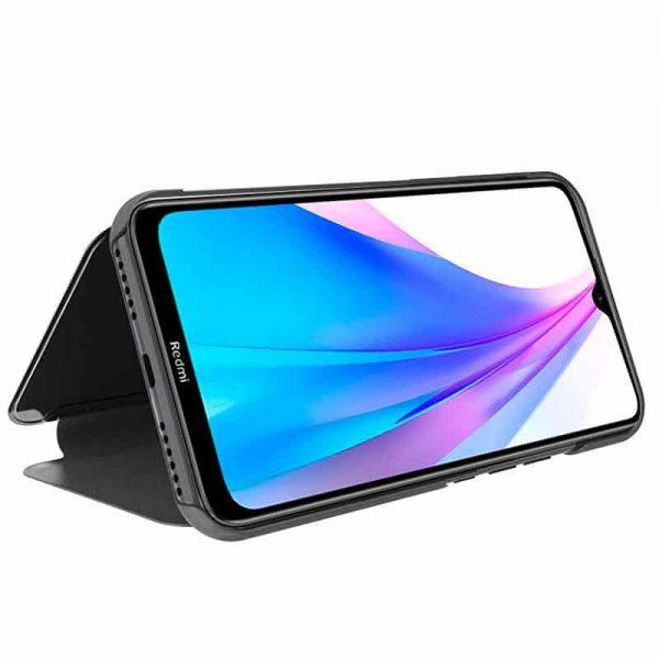 Funda Con Tapa Xiaomi Redmi Note 8T Clear View Negro 2